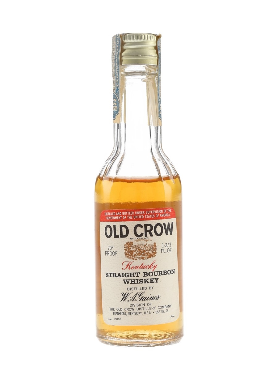 Old Crow Bottled 1970s 4.7cl / 43%
