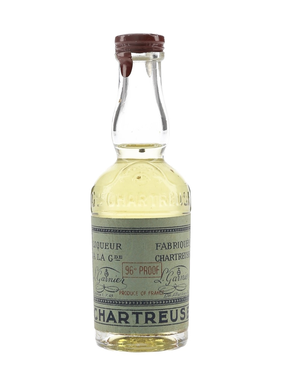 Chartreuse Green Bottled 1951-1956 3cl / 55%