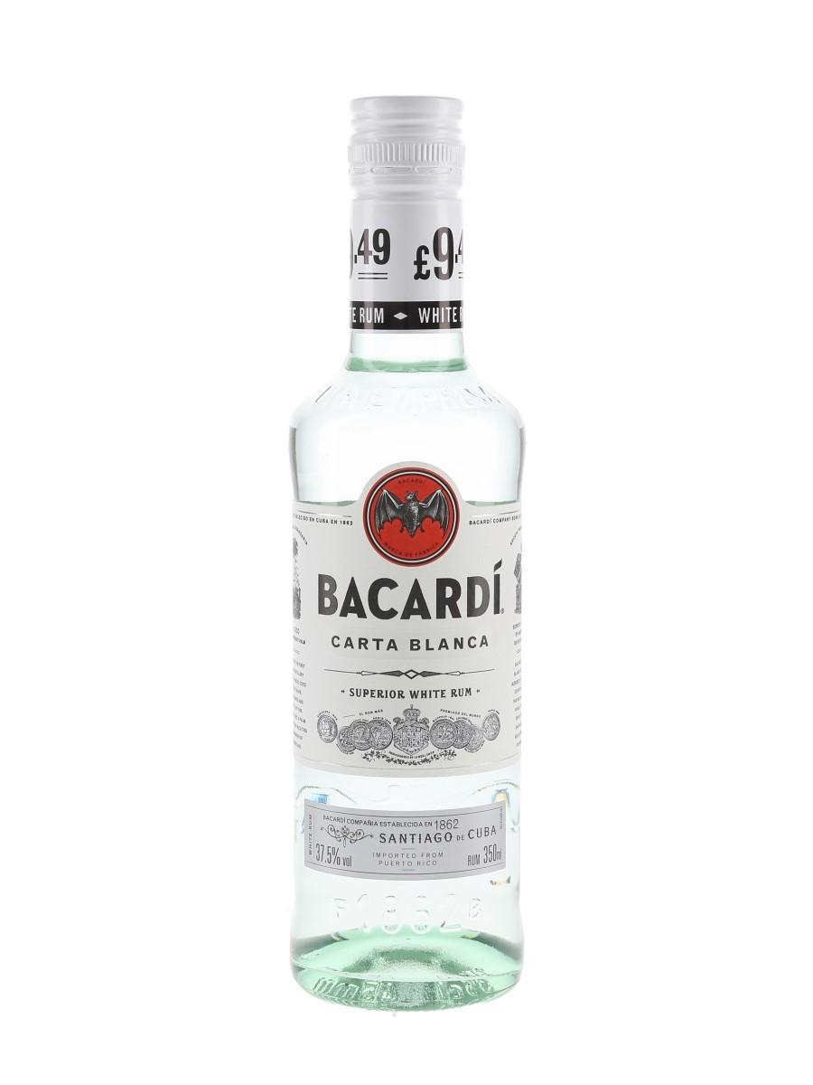 Bacardi Carta Blanca Nassau, Bahamas 35cl / 37.5%