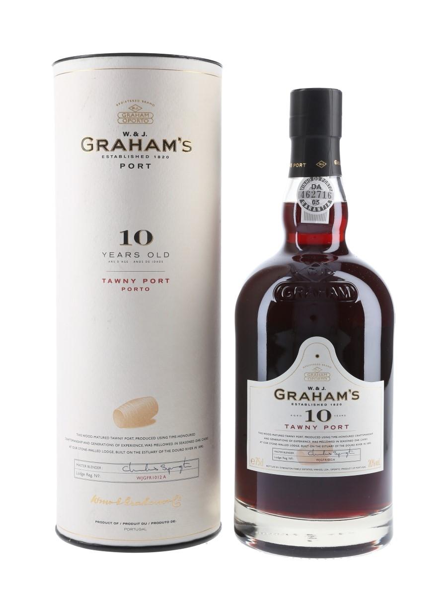 Graham's Tawny Port 10 Year Old - Lot 78688 - Whisky.Auction | Whisky & Fine Spirits Online ...