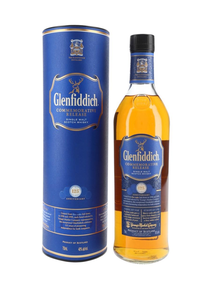 Glenfiddich Commemorative Release 125th Anniversary of Young's Market Company 75cl / 40%