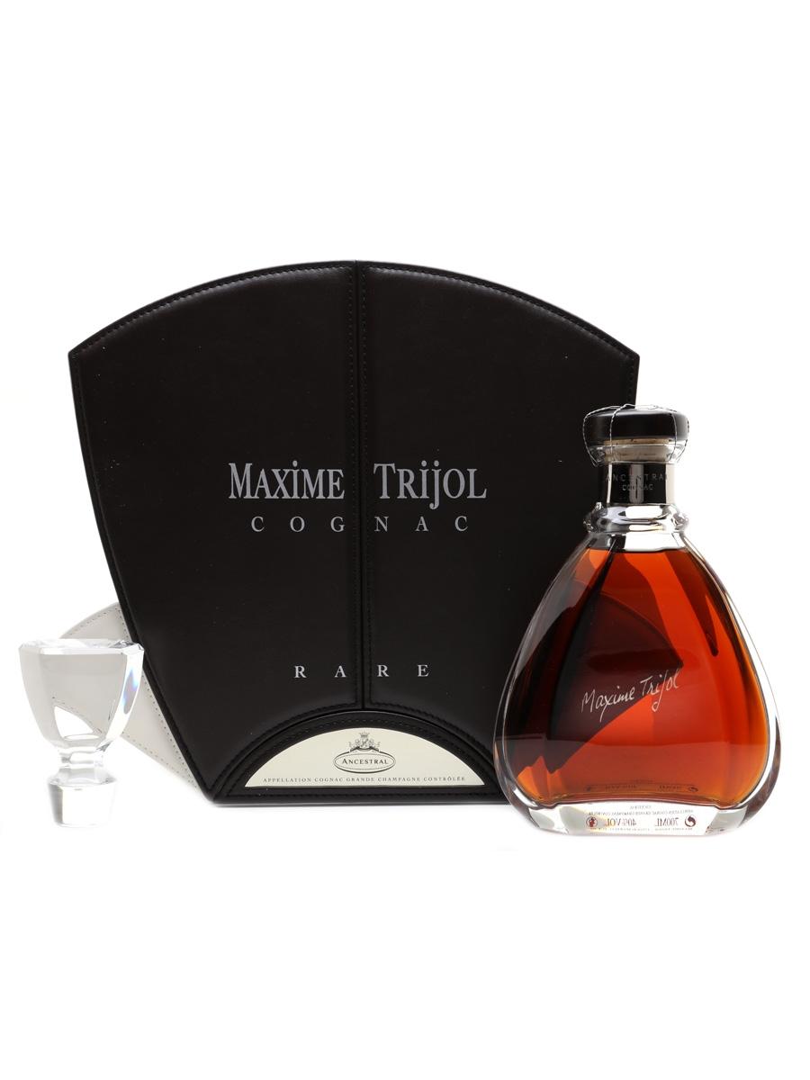 Maxime Trijol Ancestral Rare Cognac Sevres Crystal Decanter 70cl / 40%