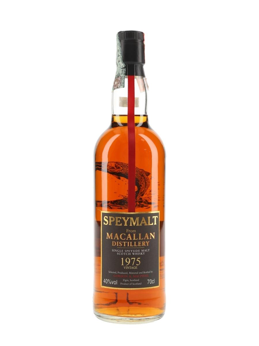 Macallan 1975 Speymalt Bottled 2001 - Gordon & MacPhail 70cl / 40%