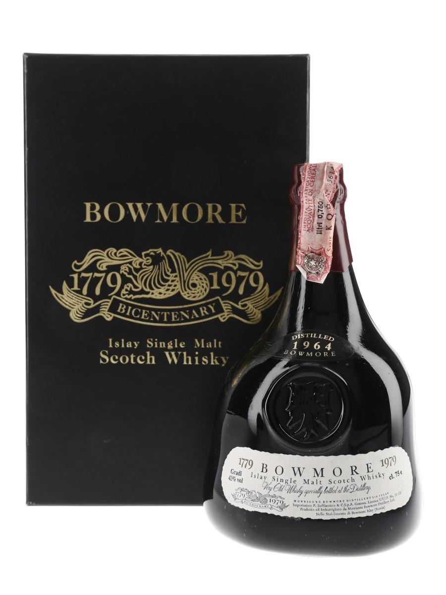 Bowmore 1964 Bicentenary 1779-1979 - Soffiantino 75cl / 43%