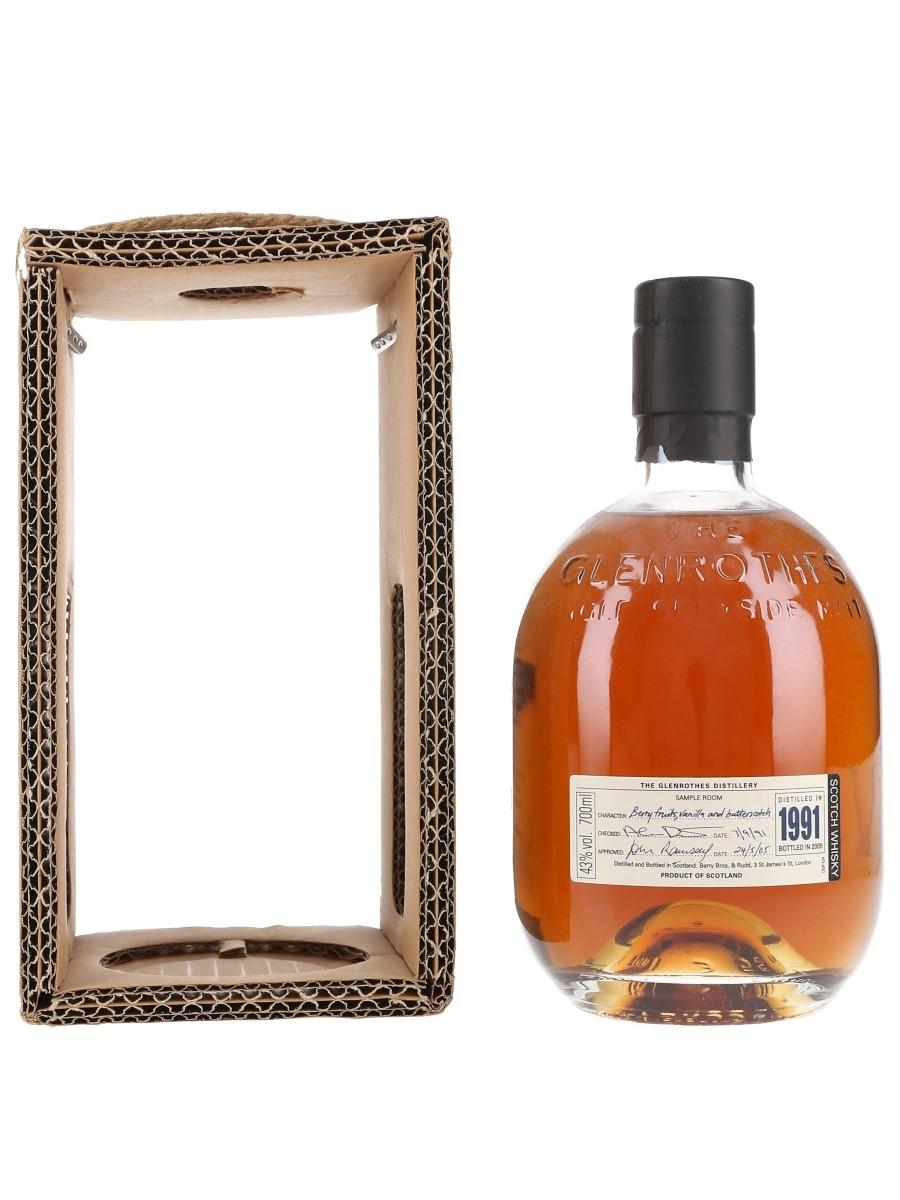 Glenrothes 1991 Bottled 2005 70cl / 43%