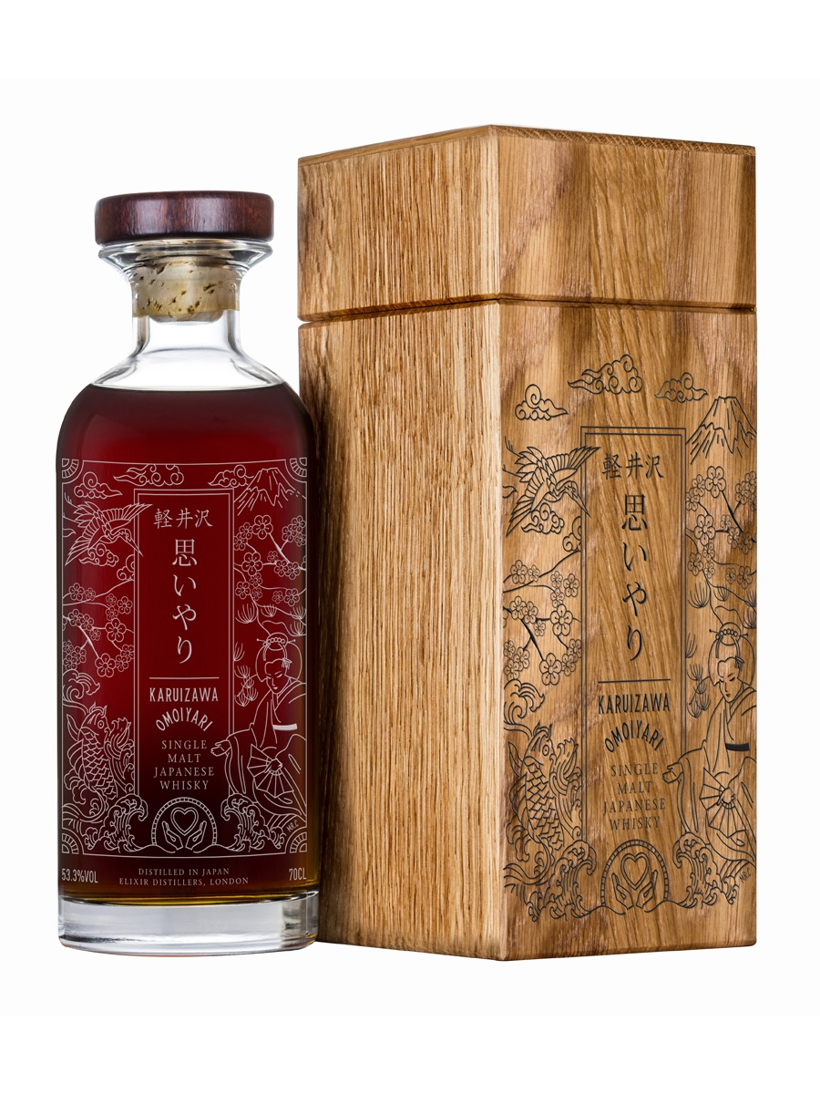 Karuizawa Omoiyari One of Six Bottles - Elixir Distillers 70cl / 53.3%