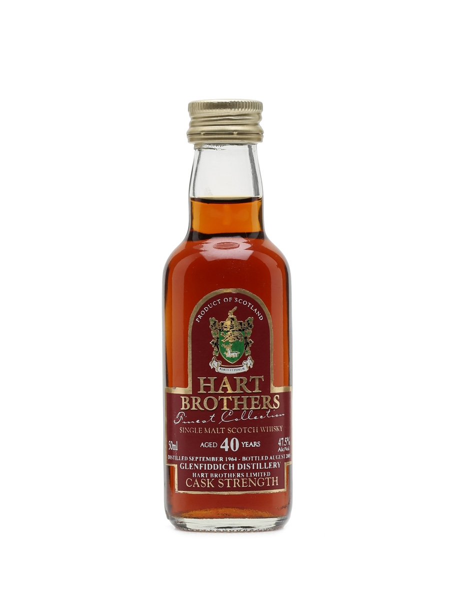 Glenfiddich 1964 40 Year Old Bottled 2005 - Hart Brothers Miniature