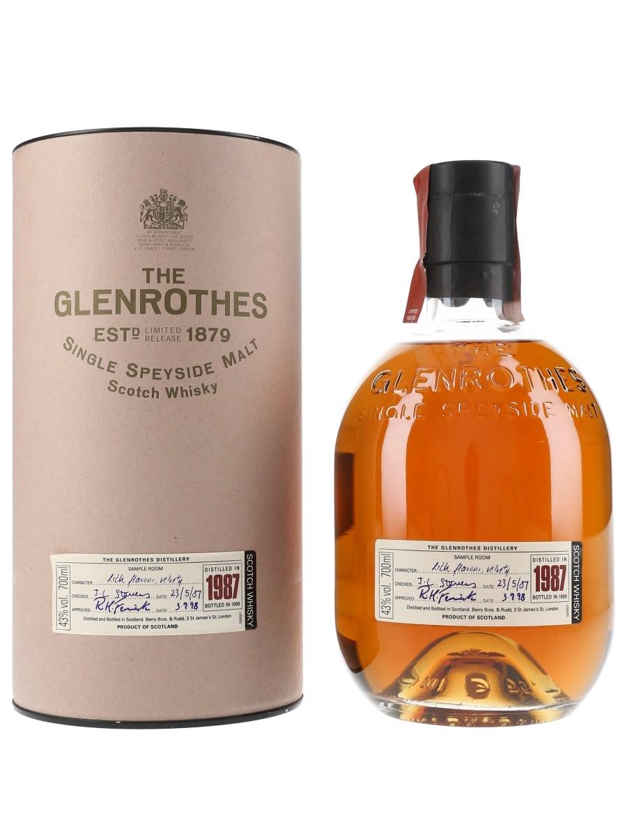 Glenrothes 1987 Bottled 1999 70cl / 43%