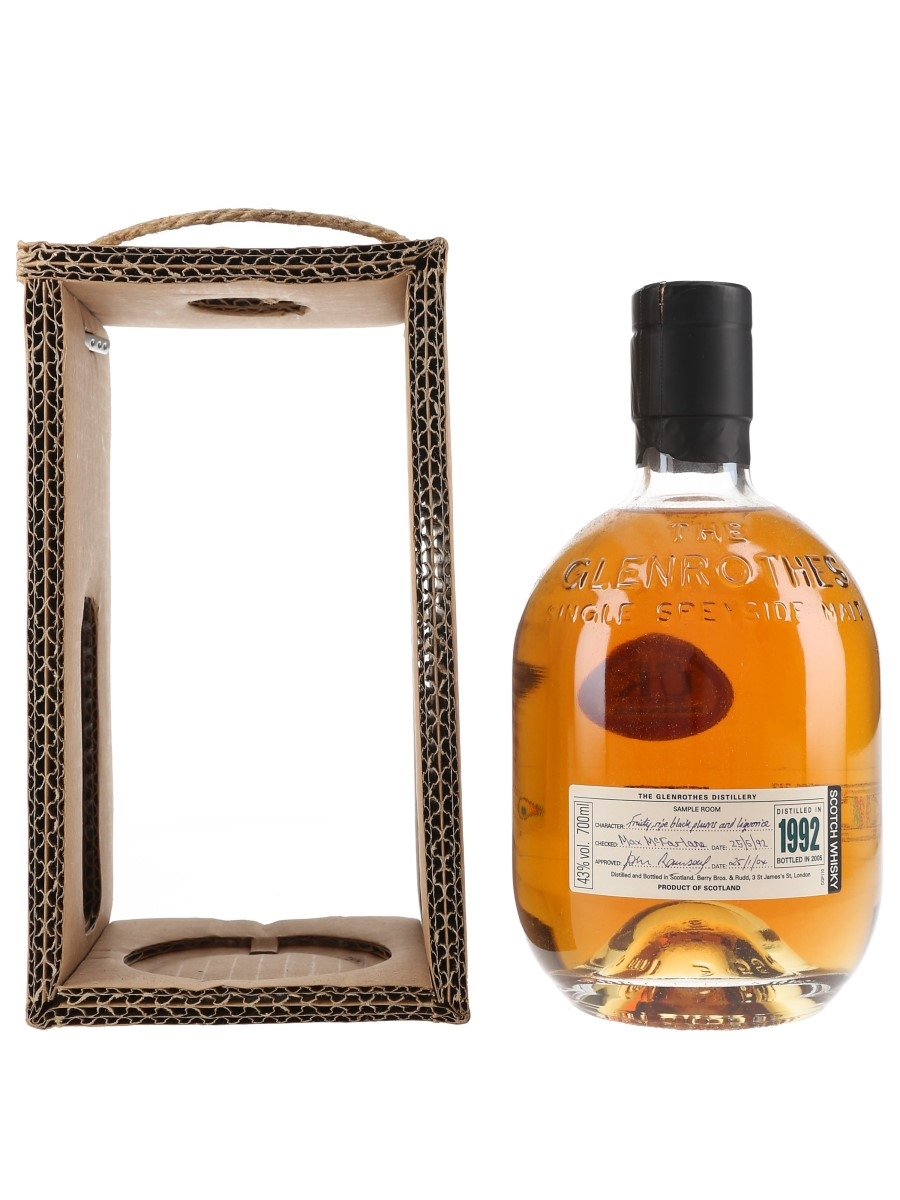 Glenrothes 1992 Bottled 2005 70cl / 43%