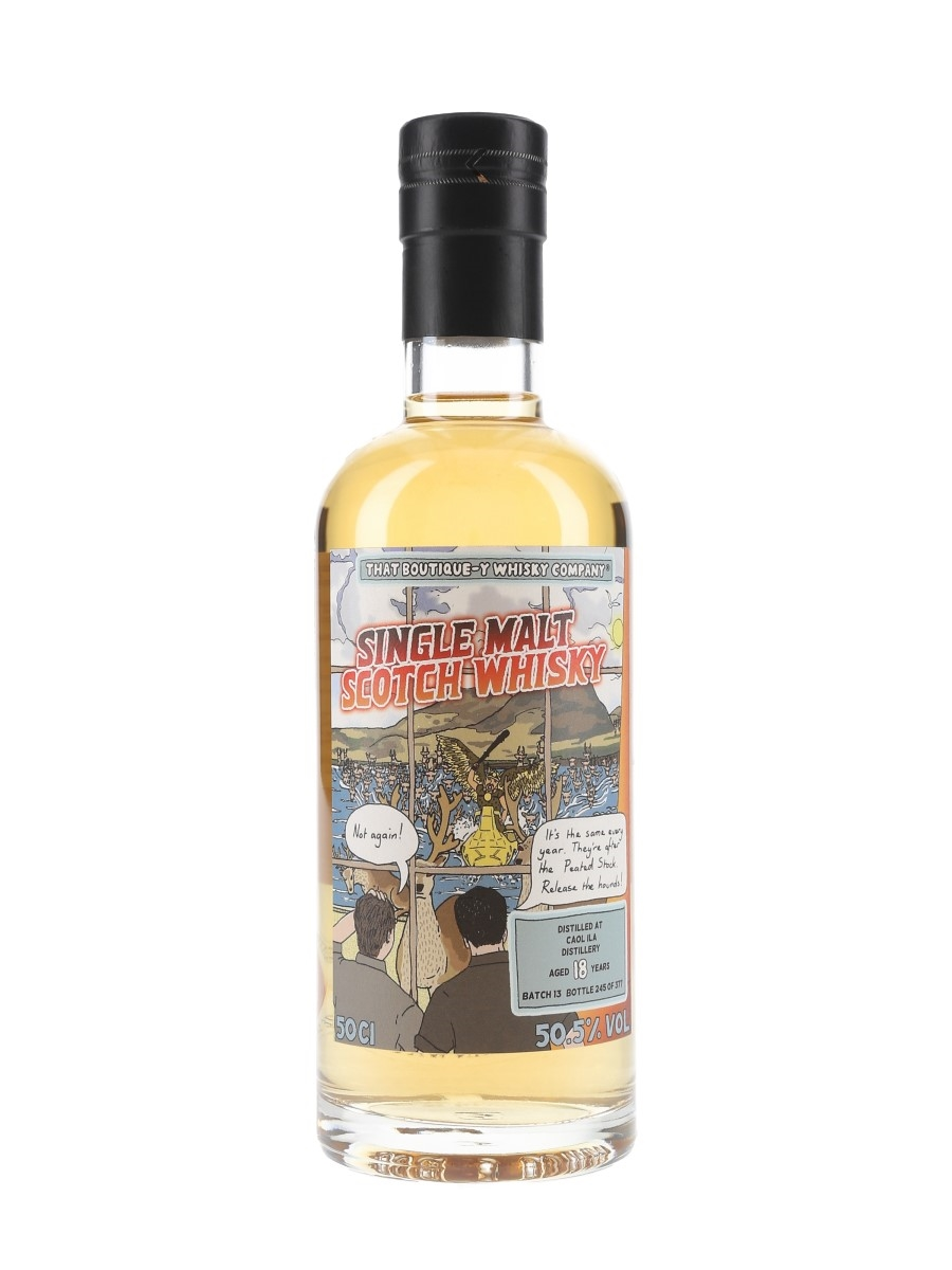 Caol Ila 18 Year Old Batch 13 That Boutique-y Whisky Company 50cl / 50.5%