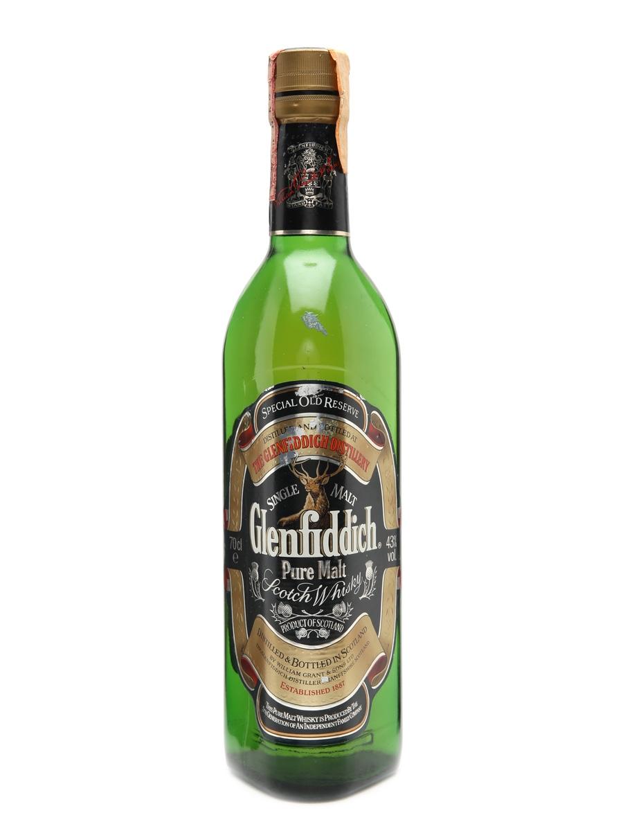 Glenfiddich Pure Malt Bottled 1990s 70cl