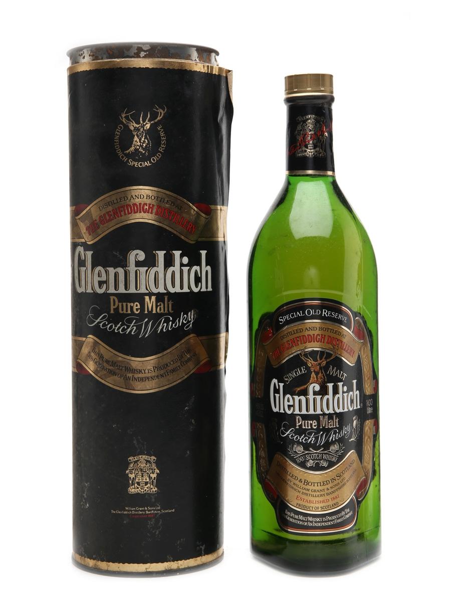 Glenfiddich Pure Malt Bottled 1990s 100cl