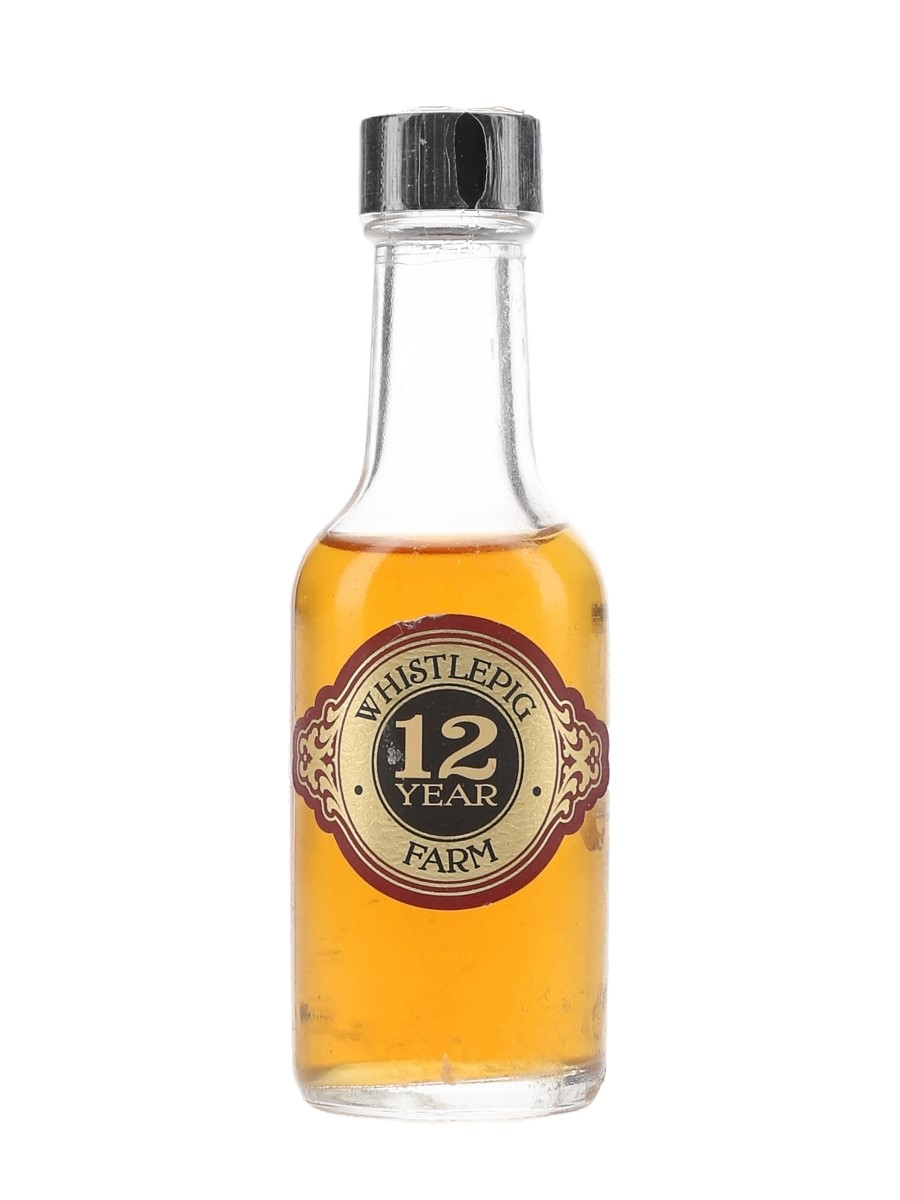 Whistlepig Farm 12 Year Old  5cl
