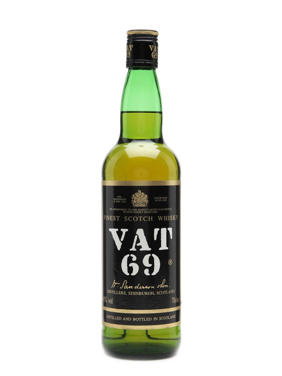 VAT 69 Old Presentation 70cl / 40%