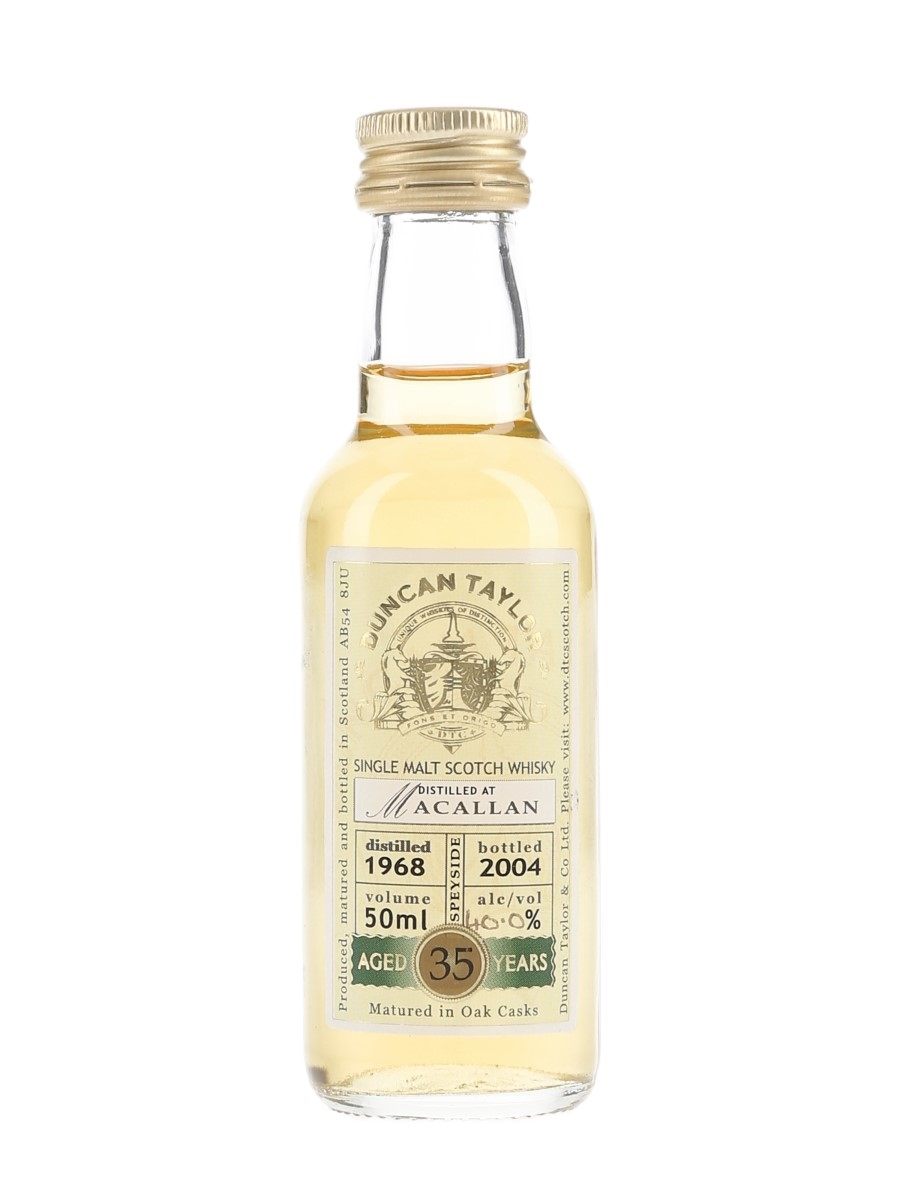 Macallan 1968 35 Year Old Bottled 2004 - Duncan Taylor 5cl / 40%
