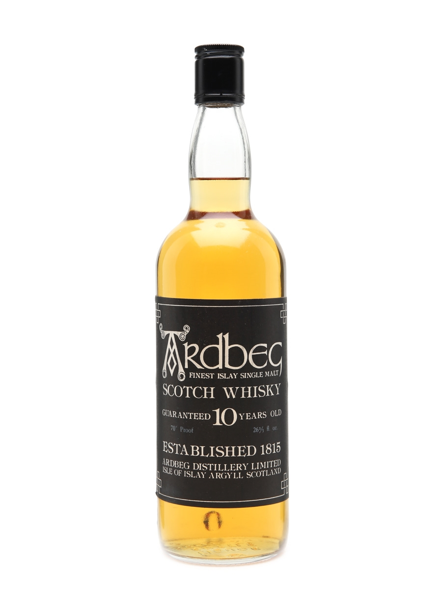 Ardbeg 10 Years Old Bottled  late 1960s 75cl / 40%