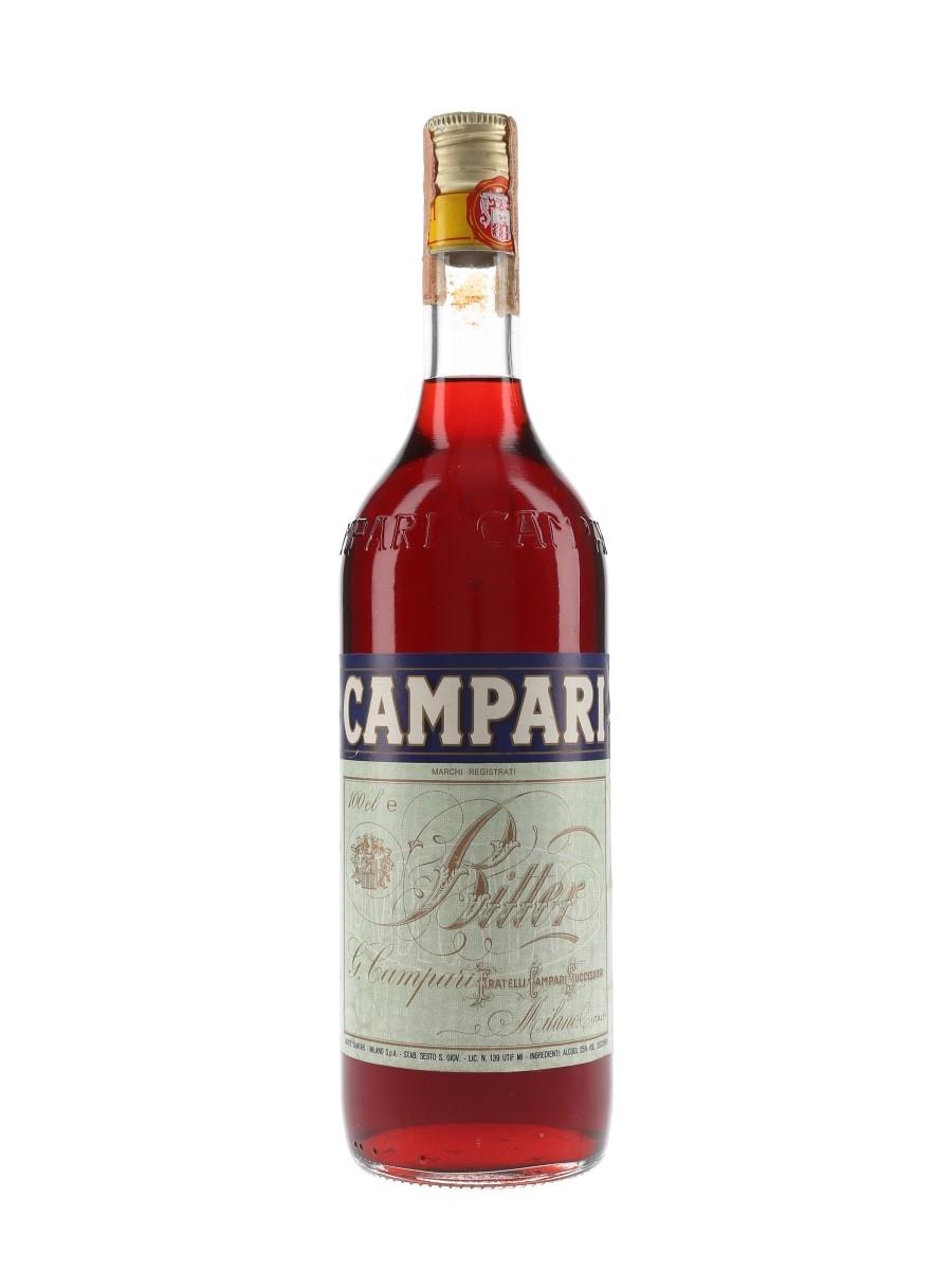Campari Bitter Bottled 1980s 100cl / 25%