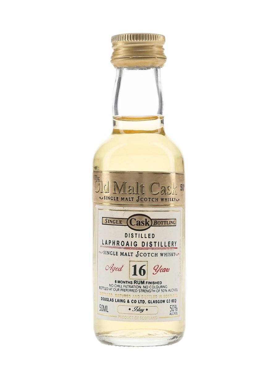 Laphroaig 16 Year Old The Old Malt Cask Douglas Laing 5cl / 50%