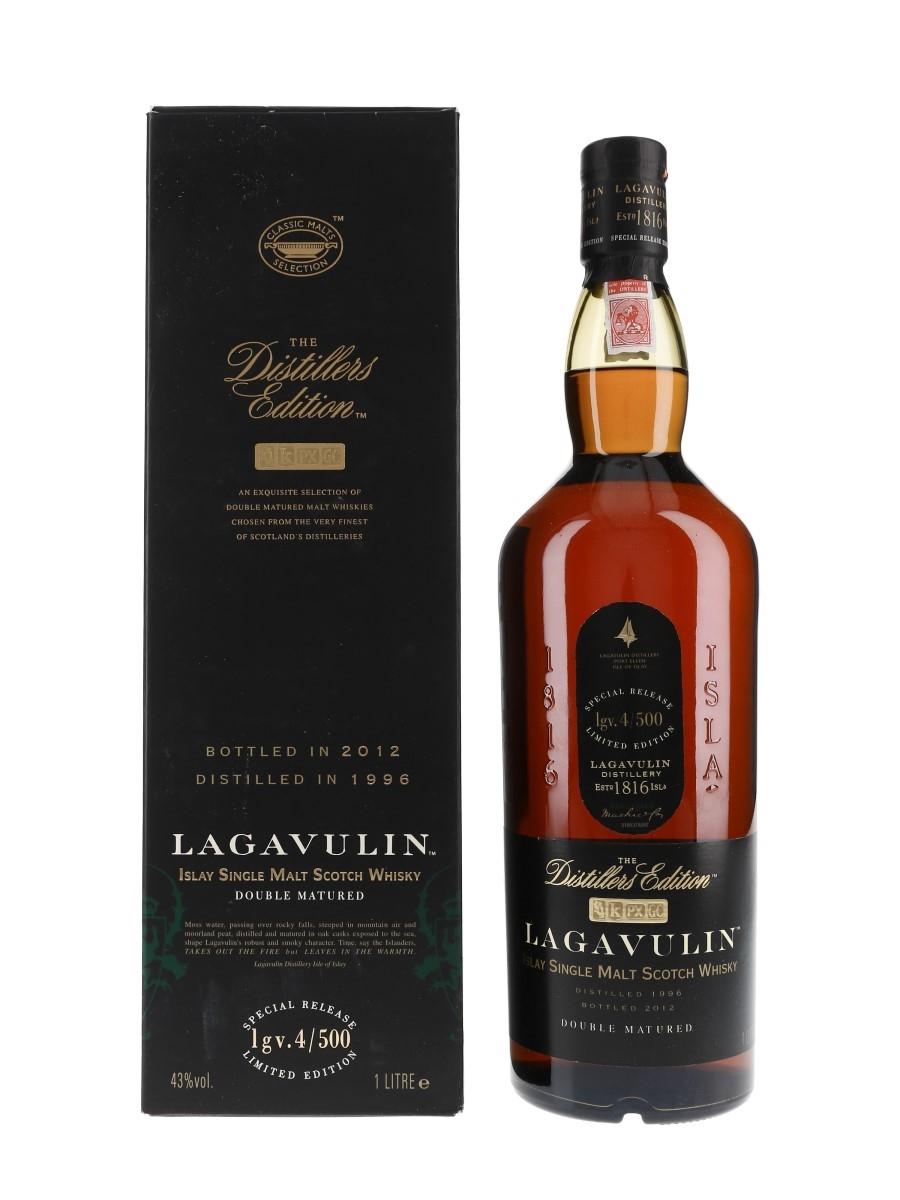 Lagavulin 1996 Distillers Edition Bottled 2012 100cl / 43%
