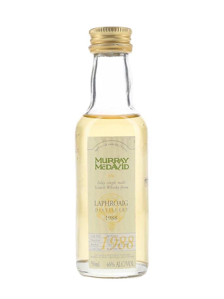Laphroaig 1988 13 Year Old Bottled 2001 - Murray McDavid 5cl / 46%