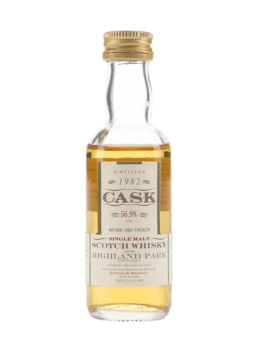 Highland Park 1982 Cask Strength Bottled 1994 - Gordon & MacPhail 5cl / 56.9%