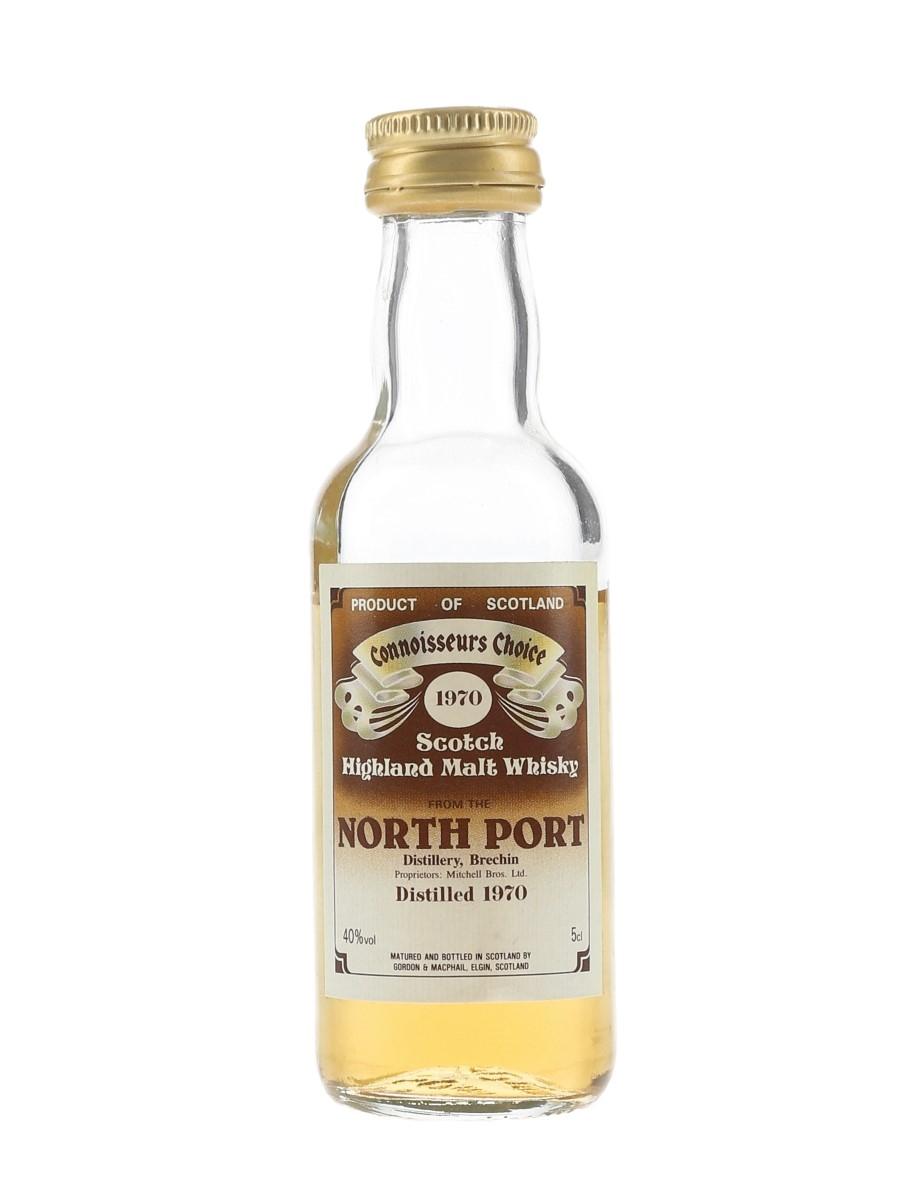 North Port 1970 Connoisseurs Choice Bottled 1980s - Gordon & MacPhail 5cl / 40%