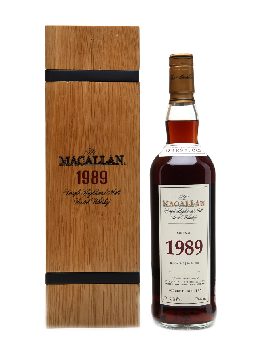 Macallan 1989 Fine & Rare 21 Years Old Cask #3247 70cl