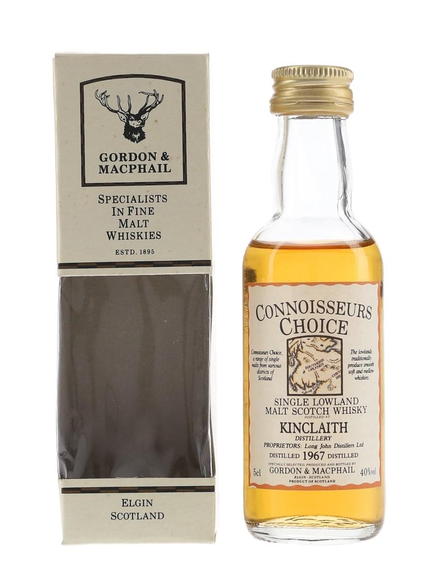 Kinclaith 1967 Connoisseurs Choice Bottled 1990s - Gordon & MacPhail 5cl / 40%