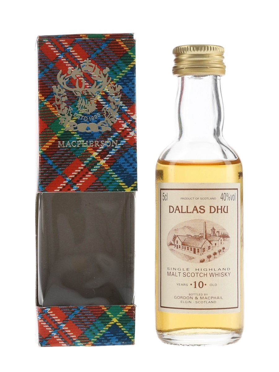 Dallas Dhu 10 Year Old Gordon & MacPhail 5cl / 40%