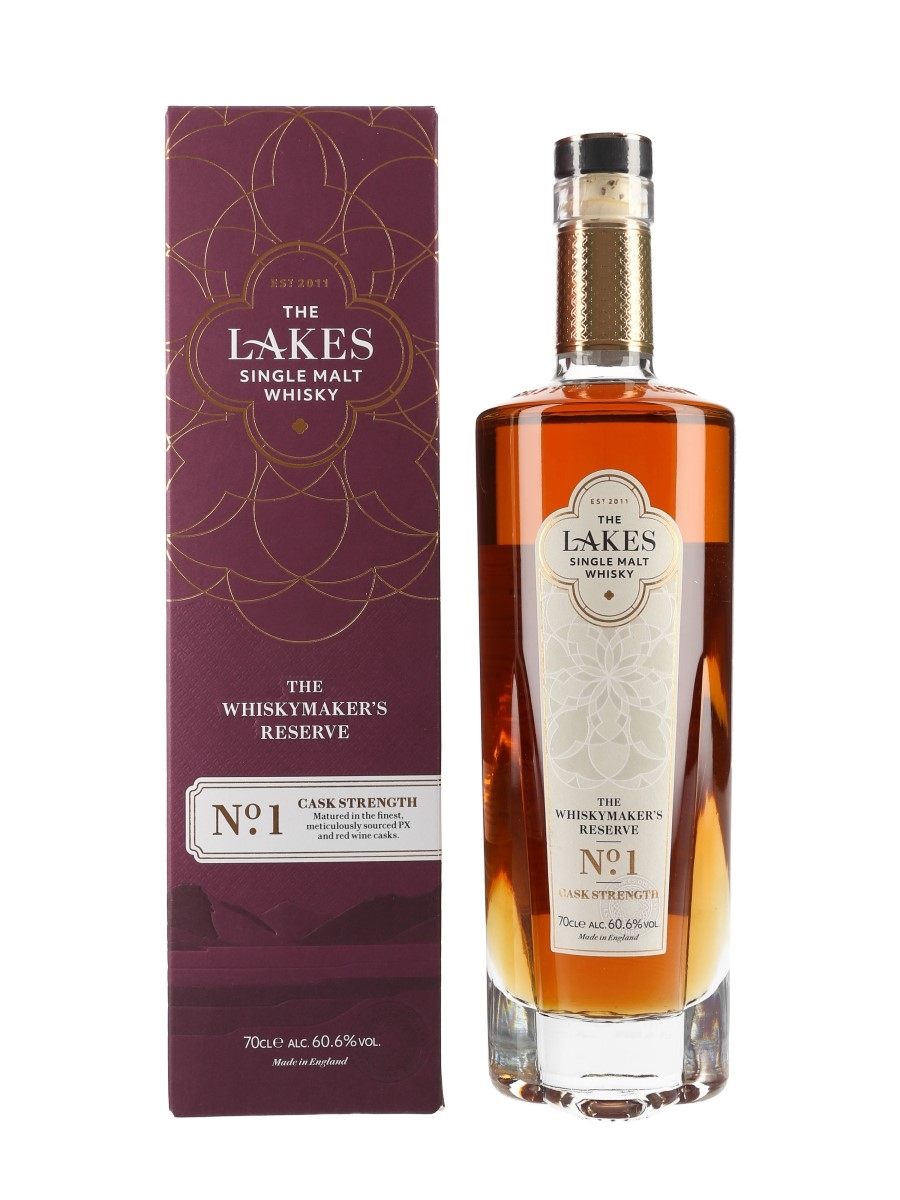 Lakes Single Malt The Whisky Maker's Reserve No.1 Cask Strength - Lakes Distillery 70cl / 60.6%