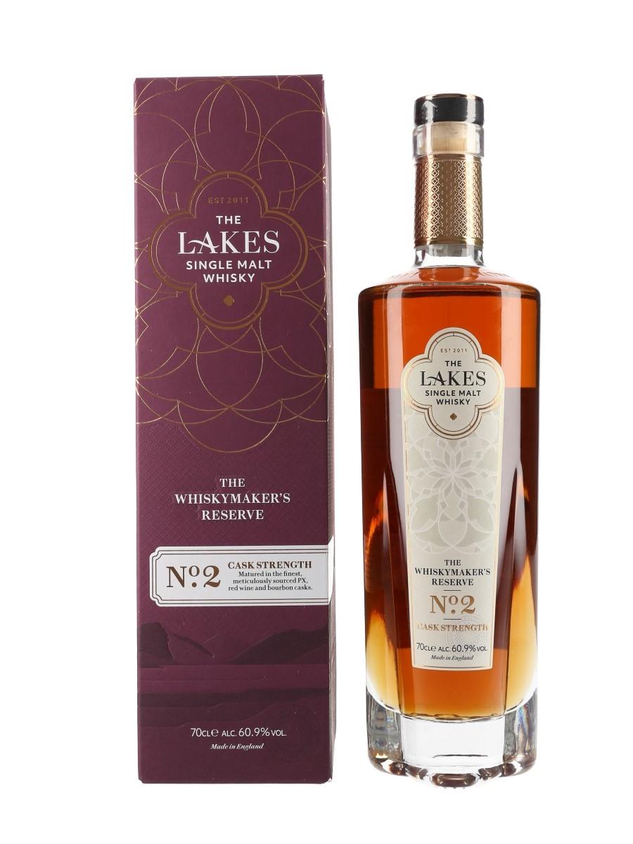 Lakes Single Malt The Whisky Maker's Reserve No.2 Cask Strength - Lakes Distillery 70cl / 60.9%