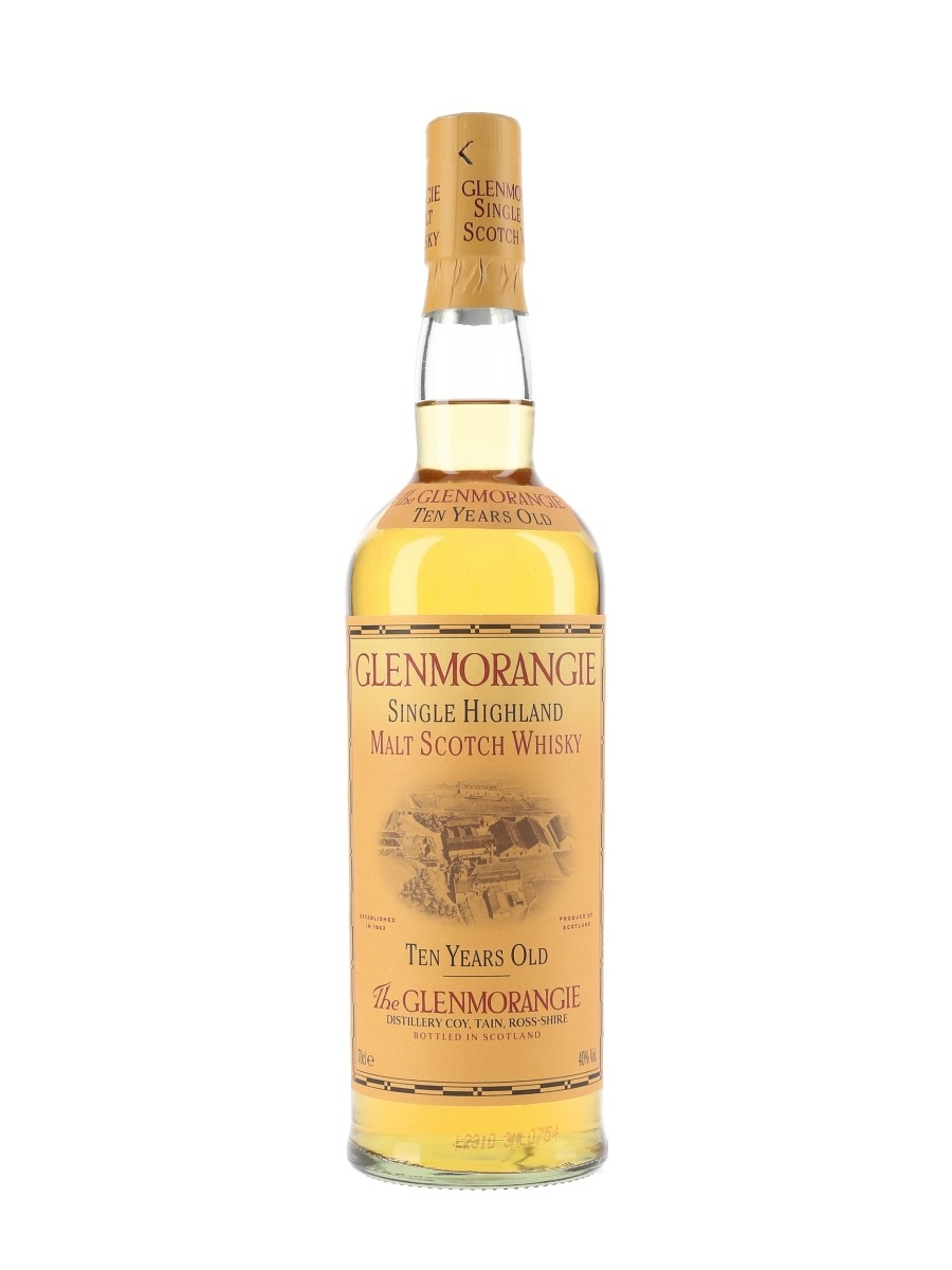 Glenmorangie 10 Year Old Bottled 1990s-2000s 70cl / 40%