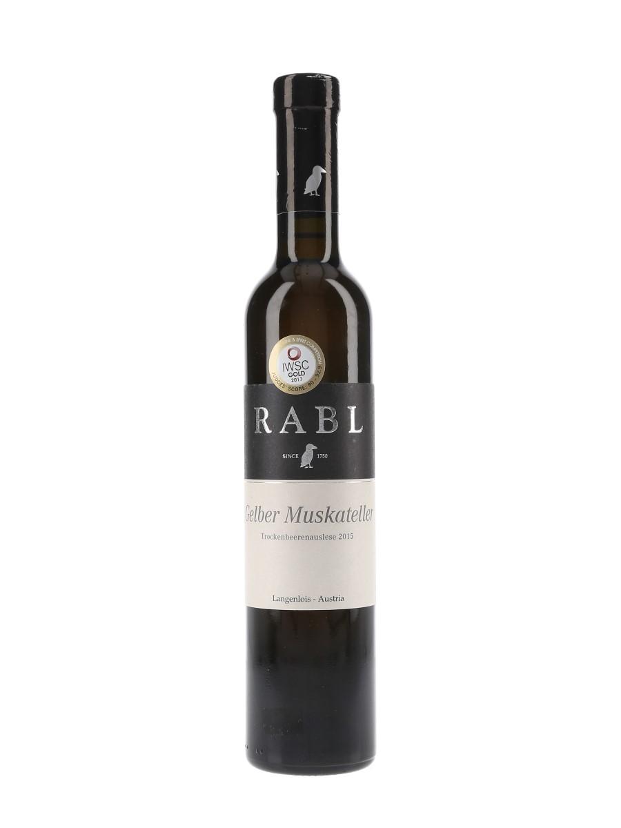 Rabl 2015 Gelber Muskateller Trockenbeerenauslese Austria 37.5cl / 7.5%