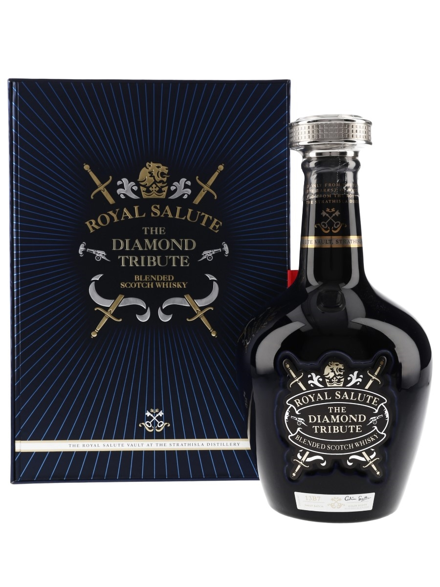 Royal Salute The Diamond Tribute 21 Year Old  70cl / 40%