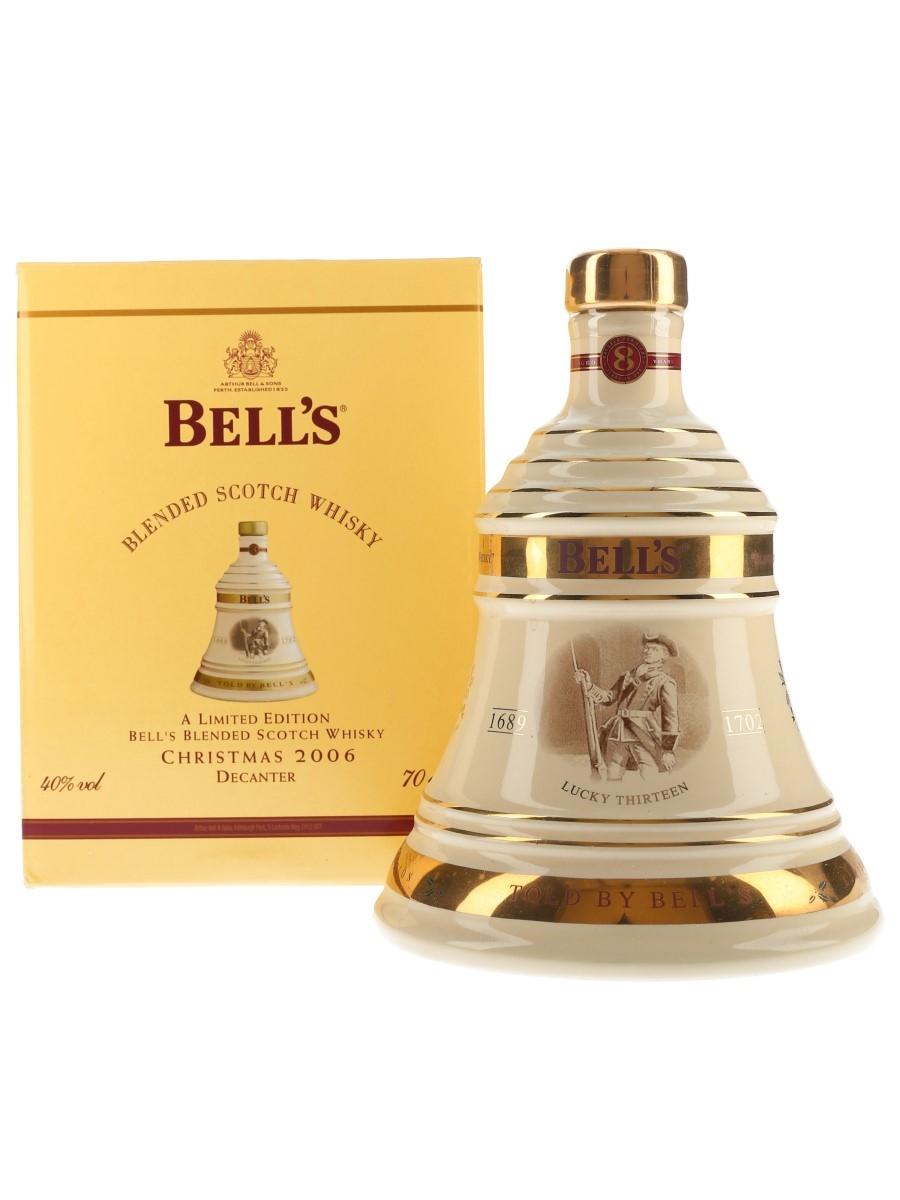 Bell's Christmas 2006 Ceramic Decanter Lucky Thirteen 70cl / 40%