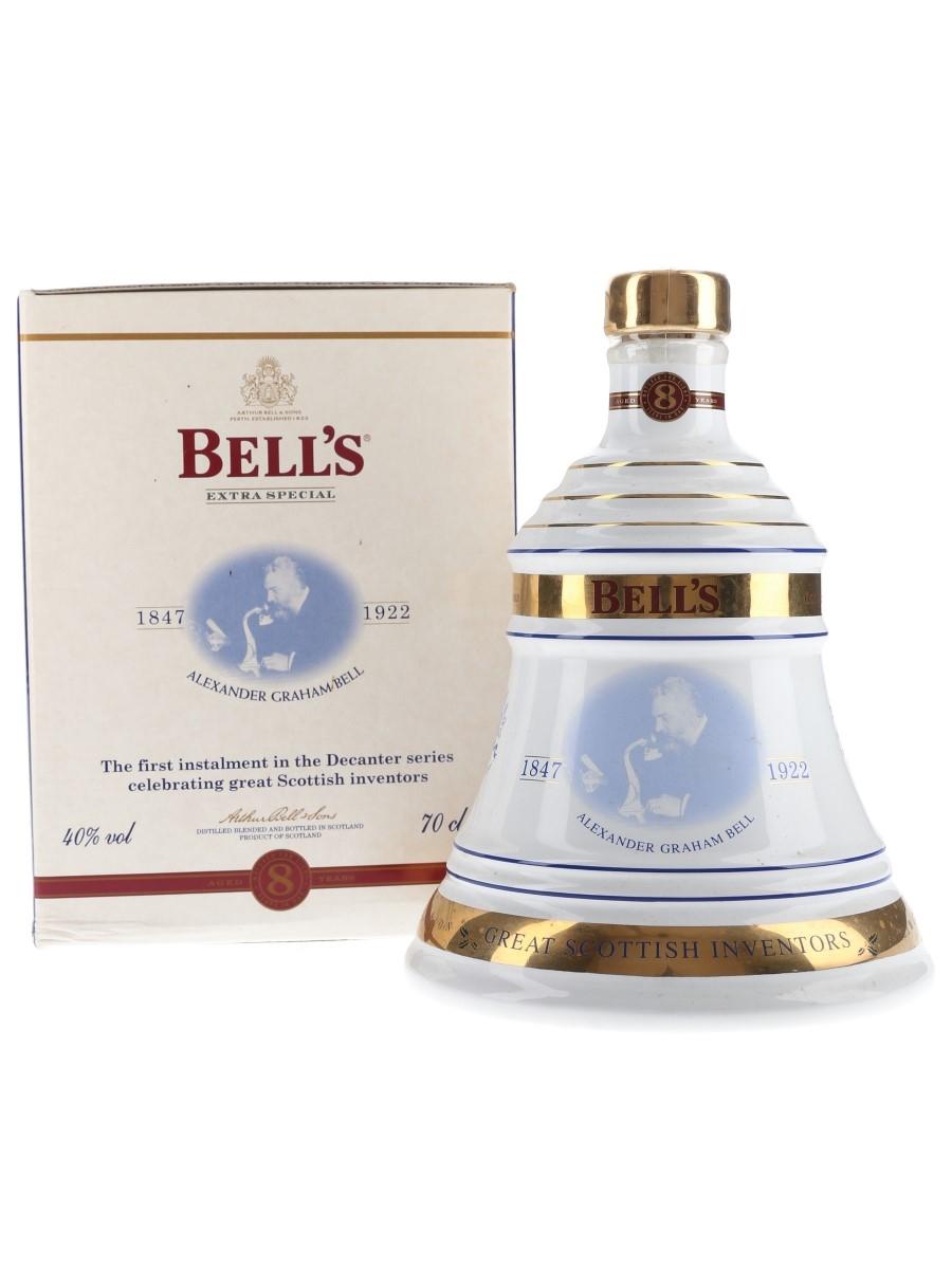 Bell's Christmas 2001 Ceramic Decanter Alexander Graham Bell 70cl / 40%