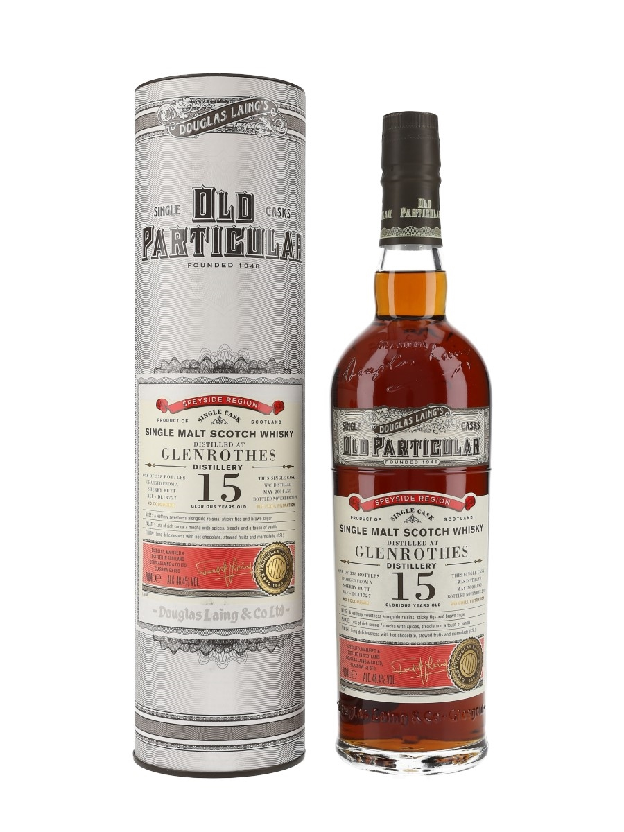 Glenrothes 2004 15 Year Old Douglas Laing's Old Particular 70cl / 48.4%