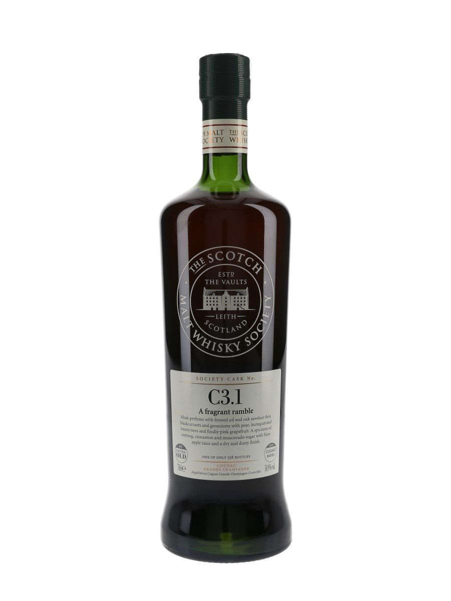 SMWS C3.1 A Fragrant Ramble Louis Royer Extra Old Grande Champagne Cognac 70cl / 50.9%