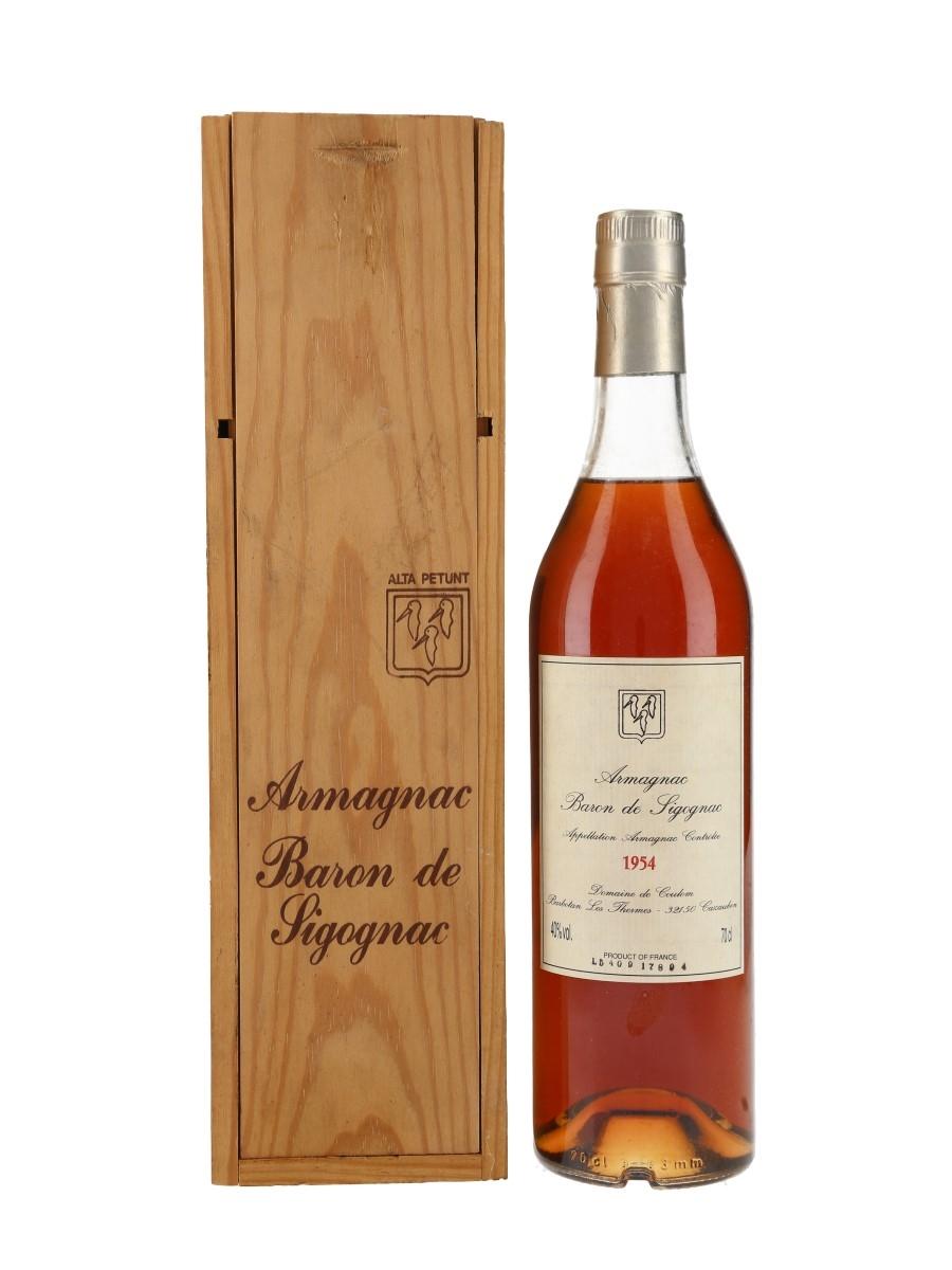 Baron De Sigognac 1954 Armagnac  70cl / 40%