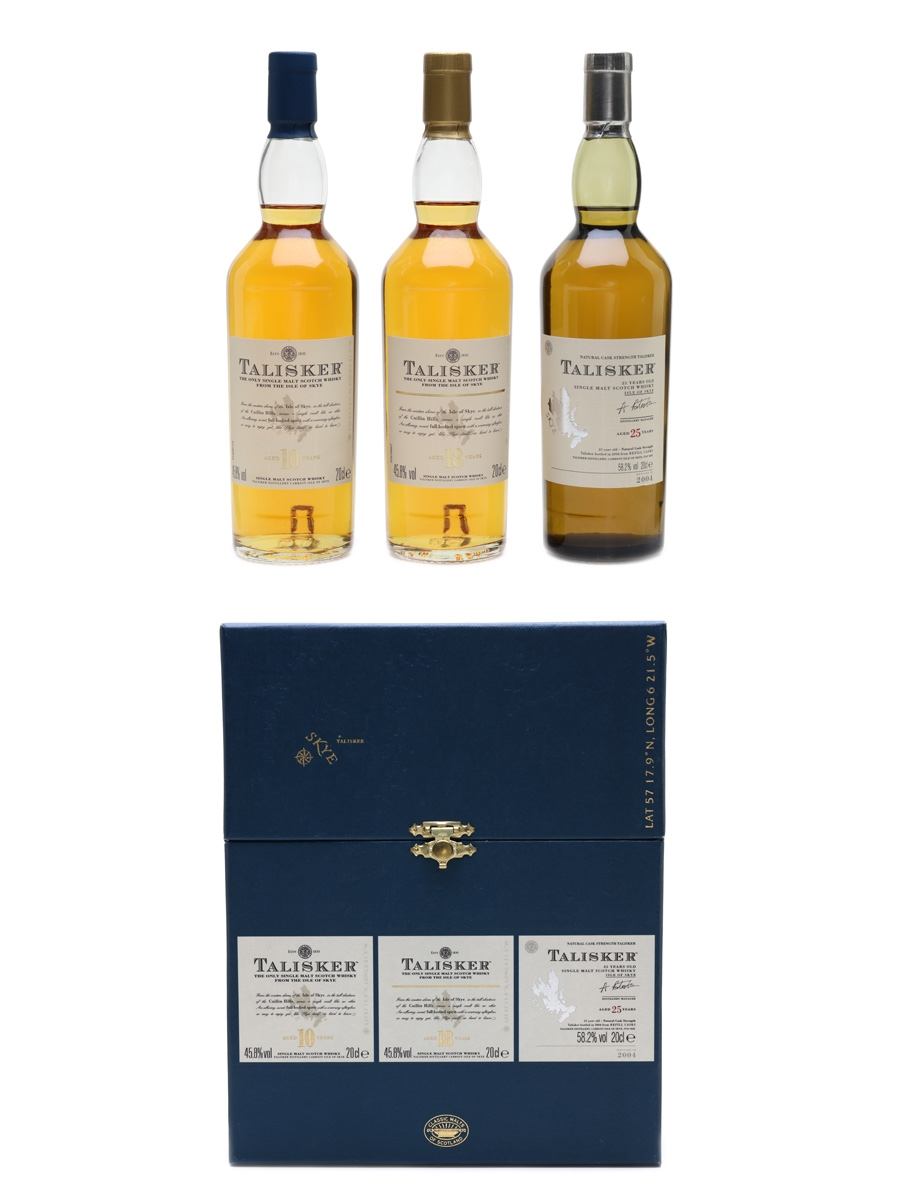 Talisker Gift Pack 10, 18 & 25 Year Old 3 x 20cl