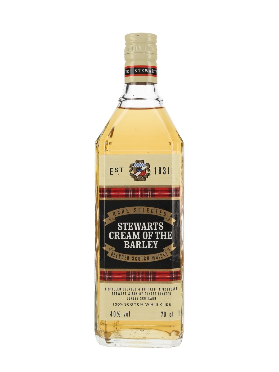 Stewarts Cream Of The Barley Bottled 1990s 70cl / 40%