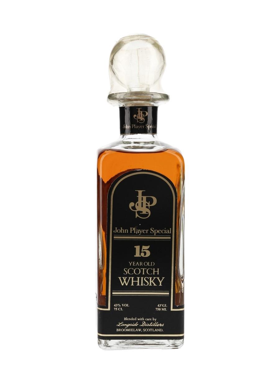 John Player Special 15 Year Old Bottled 1980s - Langside Distillers 75cl / 43%