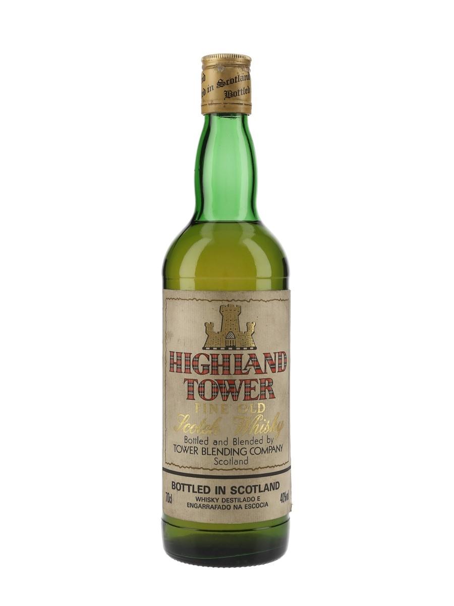 Highland Tower Bottled 1990s - Tower Blending Company 70cl / 40%