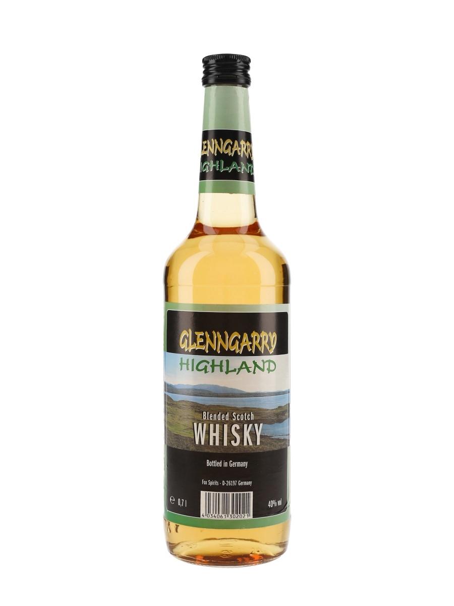 Glenngarry Highland Blended Scotch Whisky Fox Spirits 70cl / 40%