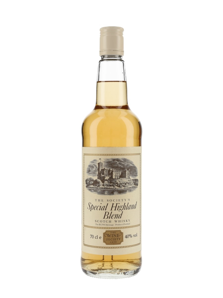 The Society's Special Highland Blend Bottled 1990s-2000s - IEC Wine Society 70cl / 40%