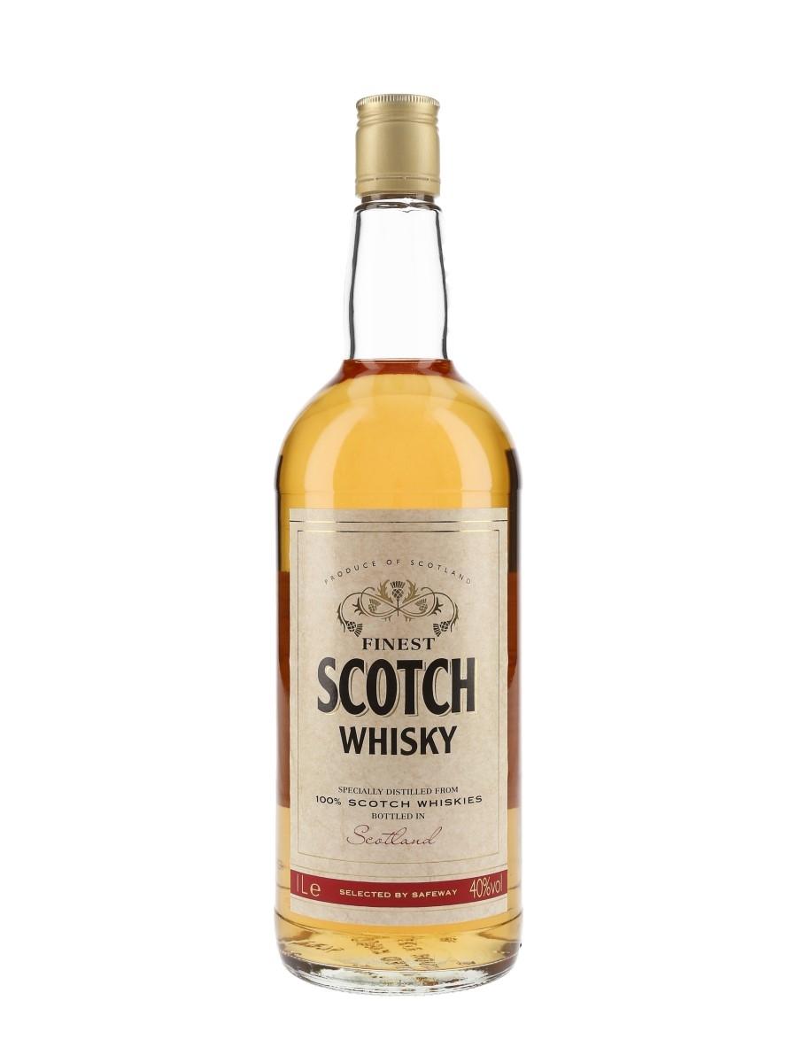 Safeway Finest Scotch Whisky Bottled 1990s 100cl / 40%