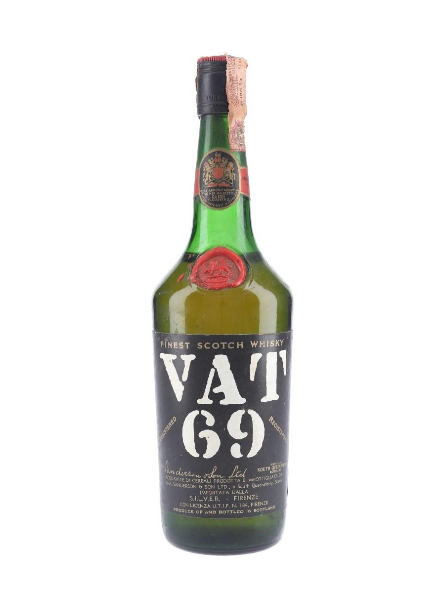 Vat 69 Bottled 1960s-1970s - Silver 75cl / 43%