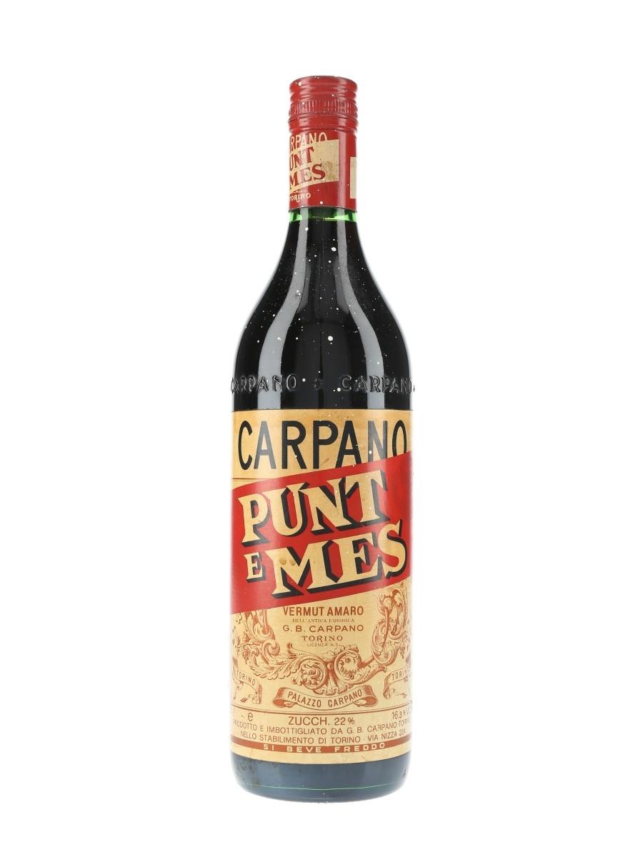 Carpano Punt E Mes Bottled 1970s 100cl / 16.3%