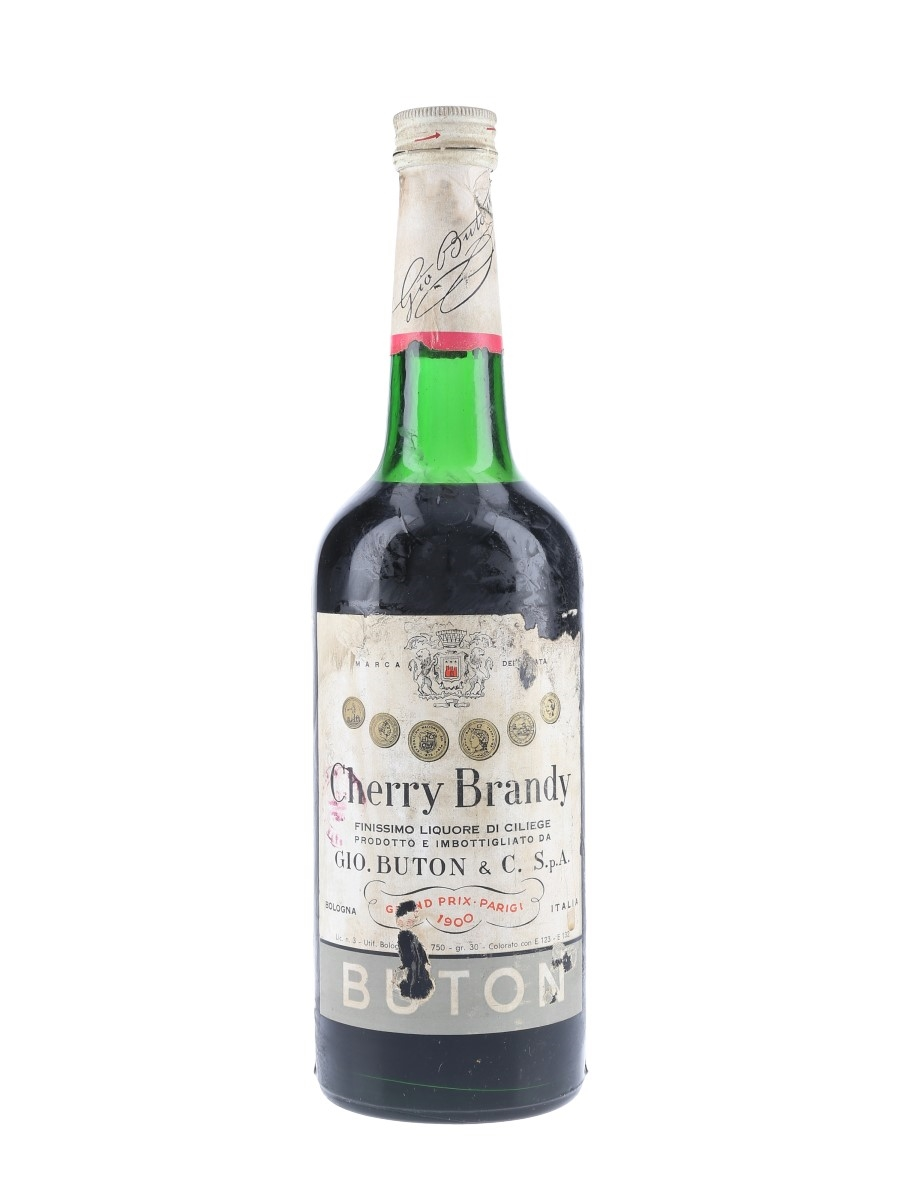 Buton Cherry Brandy Bottled 1950s 75cl / 30%