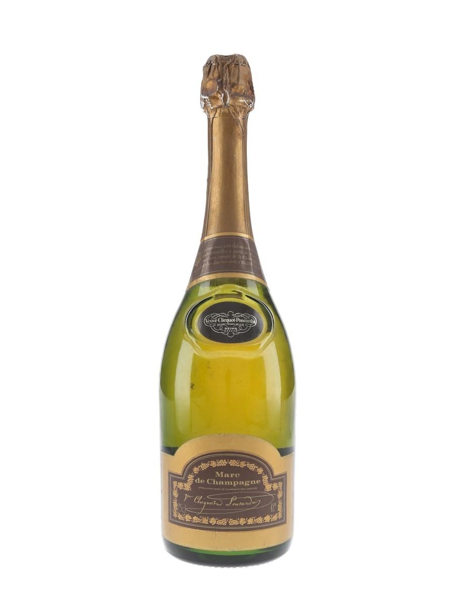 Veuve Clicquot Ponsardin Marc De Champagne Bottled 1980s - D & C 75cl / 42%